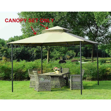 Sunjoy Replacement Canopy set for L-GZ136PST-8C 10X10 GAZEBO GROVE