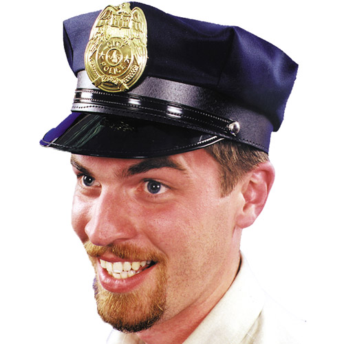 Police Hat Adult Halloween Accessory