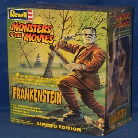 MONSTERS OF THE MOVIES: FRANKENSTEIN LIMITED EDITION 1/12TH