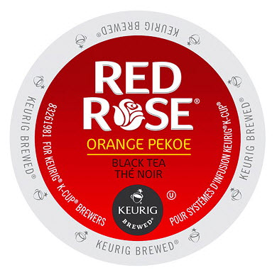 Red Rose Orange Pekoe, K-Cup Portion Pack for Keurig Brewers (96 Count) (4x16oz)
