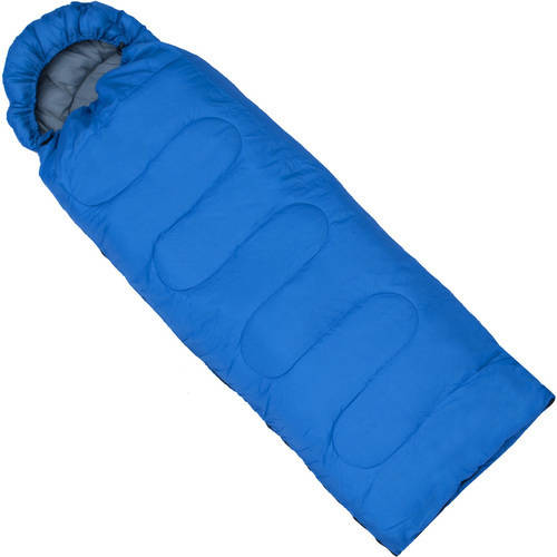 Click here to buy ALEKO SB6BL Sleeping Bag in Camping Bag 4-Seasons Insulation, Blue by ALEKO.
