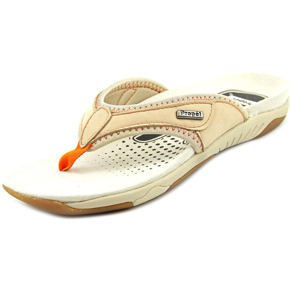 Propet Hartley Open Toe Leather Thong Sandal by Propet