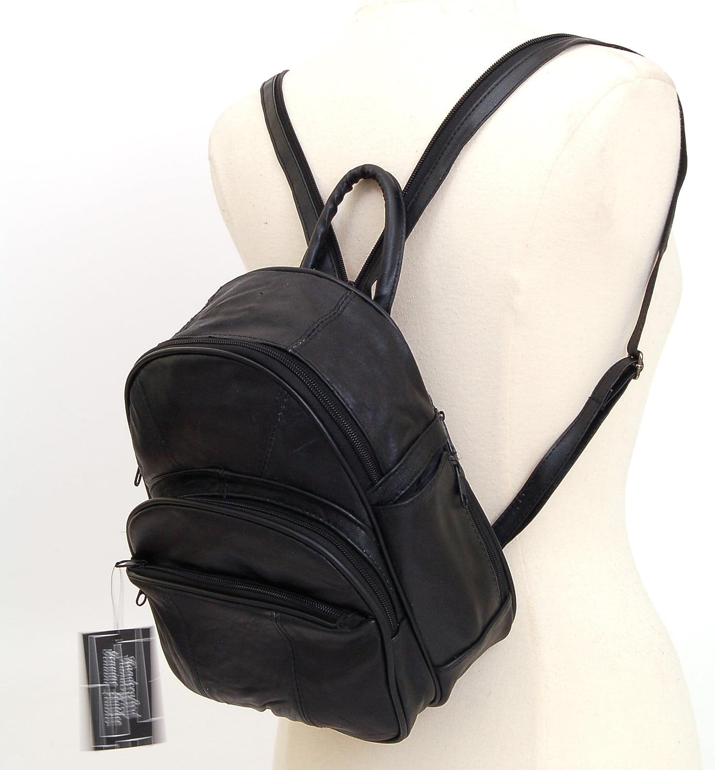 New Leather Backpack Purse Sling Bag Back Pack Shoulder Handbag ...