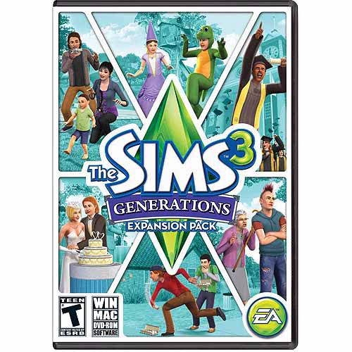 Electronic Arts Sims 3: Generations Expansion Pack (Digital Code)