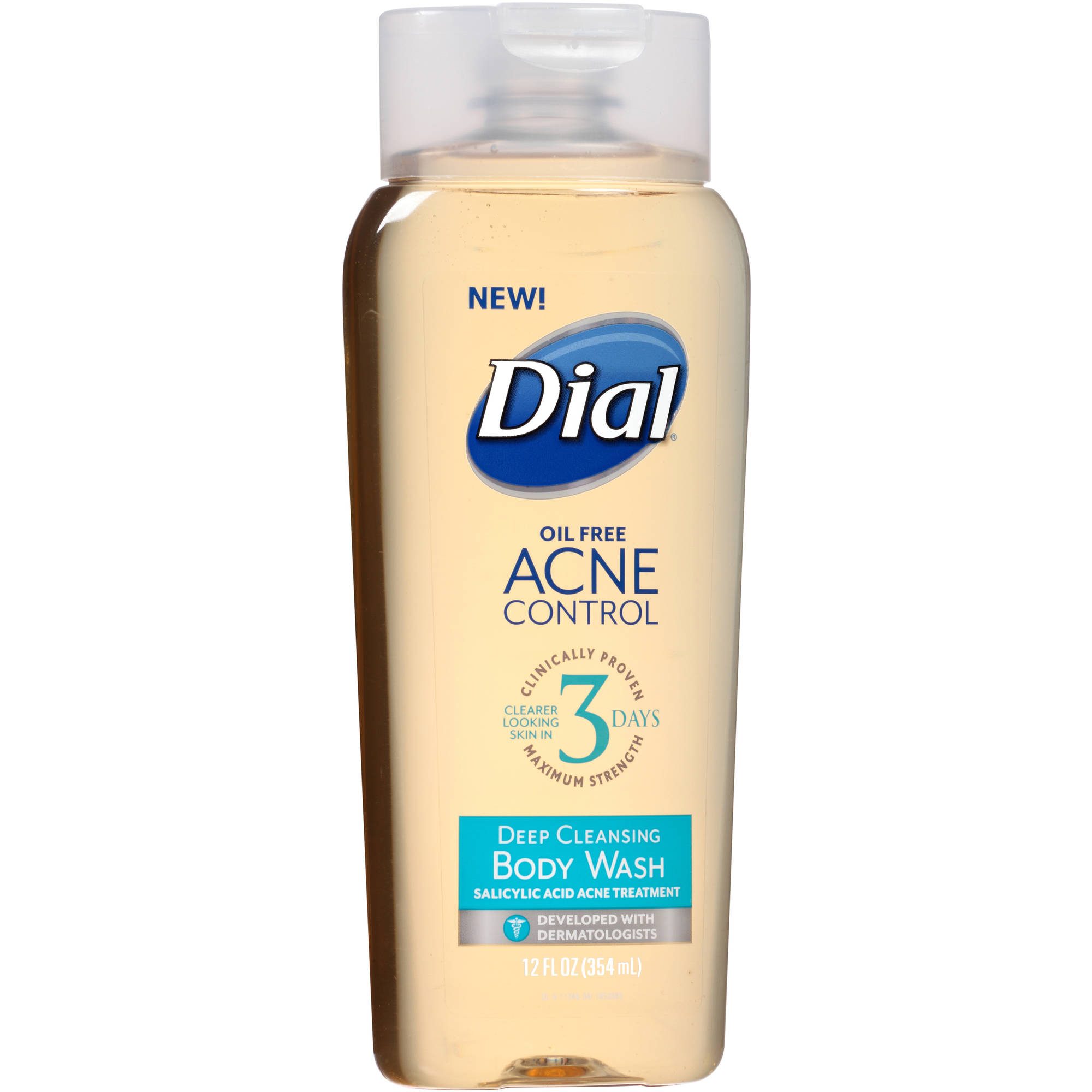 Dial Acne Control Deep Cleansing Face Wash, 12 fl oz