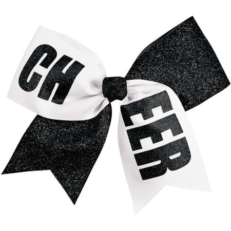 Girls Cheer Performance Hair Bow - Halloween Cheer Bows