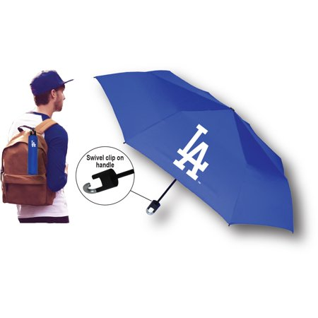 Los Angeles Dodgers Super Mini Umbrella With Storm Clip