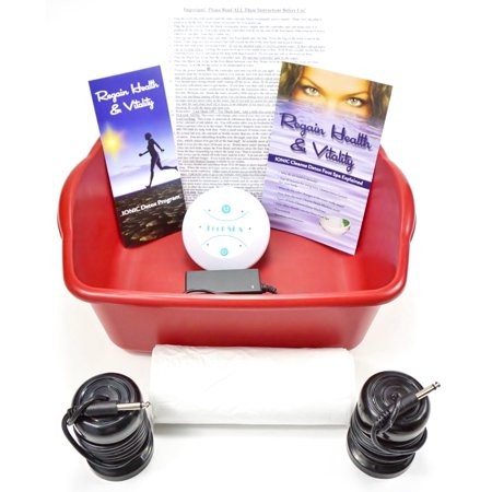 Ionic Detox Ionic Foot Bath Spa Chi Cleanse Unit for Home Use. Affordable Detox Foot Spa Machine! Free