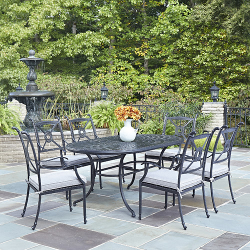 Darby Home Co Lansdale 7 Piece Dining Set with Cushions