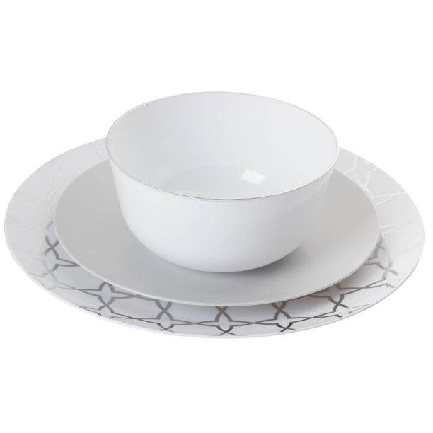 Plastic Disposable Dinnerware Set Combo