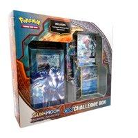 Pokemon Sun & Moon Burning Shadows GX Challenge Box- Featuring Lycanroc or Alolan Ninetales GX card |1 Theme Deck | Foil Card