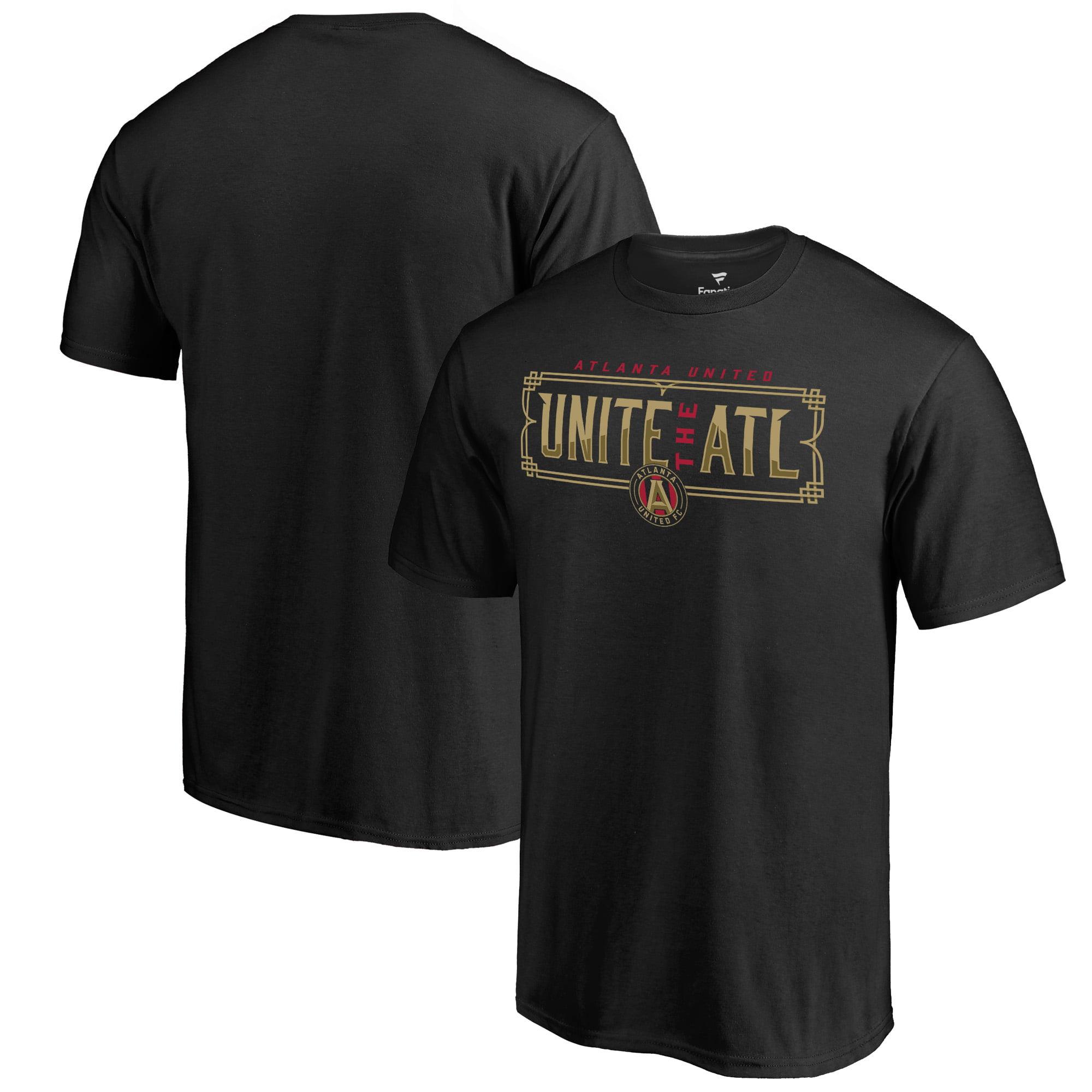 Atlanta United FC Fanatics Branded Unite the ATL T-Shirt - Black