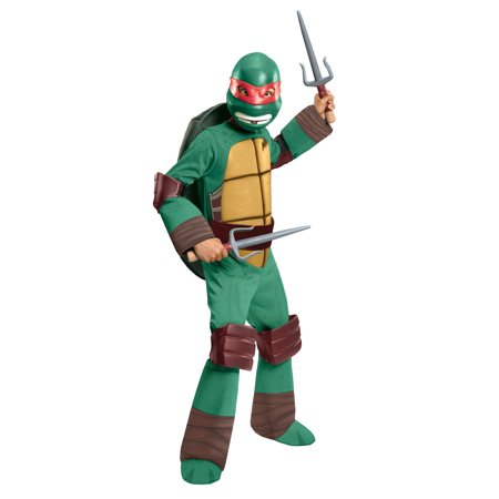 TMNT Raphael Deluxe Child Halloween (80's Costume Ideas For Boys)
