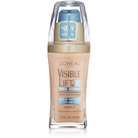 L'Oreal Visible Lift Serum Absolute Advanced Age-Reversing Makeup, Classic Ivory 1 (Lift Makeup)