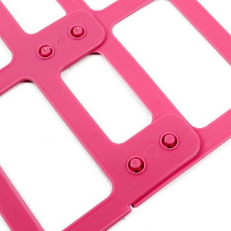 Home Plastic Adjustable Assembled Pillow Doll Drying Hanger Hook Rack 2 Pcs - image 1 de 6