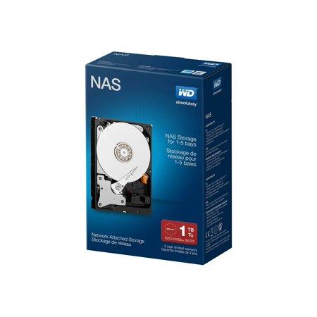 WD NAS WDBMMA0010HNC - Hard drive - 1 TB - internal - 3.5