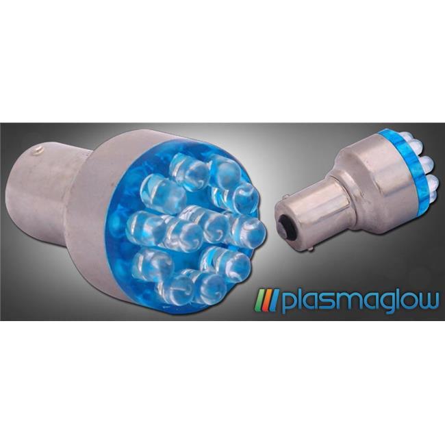 """PlasmaGlow 921LED-RD 3.5"""" L x 2""""H x 1""""W LED Bulb - Red"""