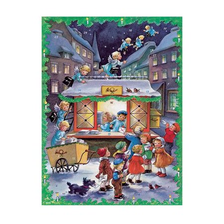 Alexander Taron Korsch Christmas Post Office Advent Calendar  Set Of 2