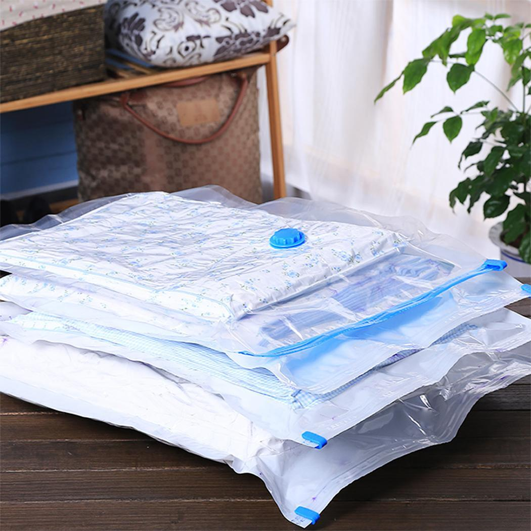 Big Clearance!New 5PCS Seal Compressed Vacuum Bag Organizer Space Saving Storage Bags BYE