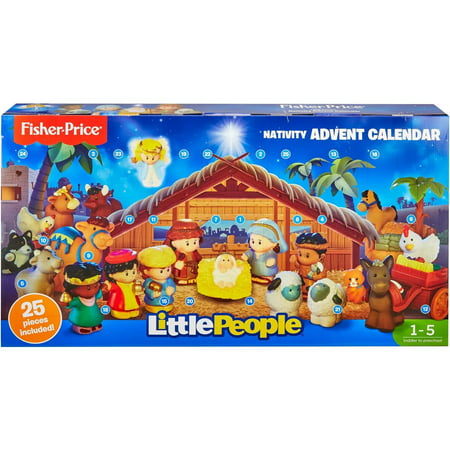 Little People Nativity Advent Calendar