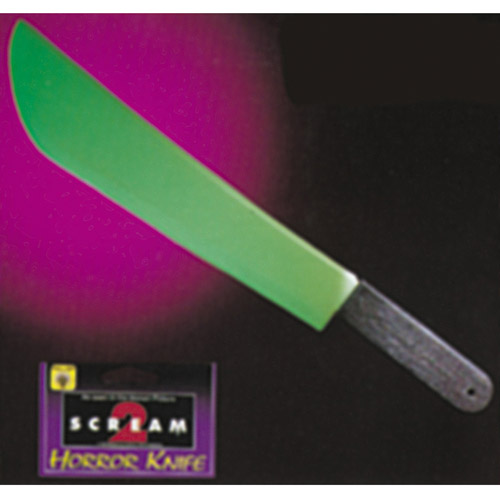 Glow-in-the-Dark Scream II Knife Adult Halloween Accessory