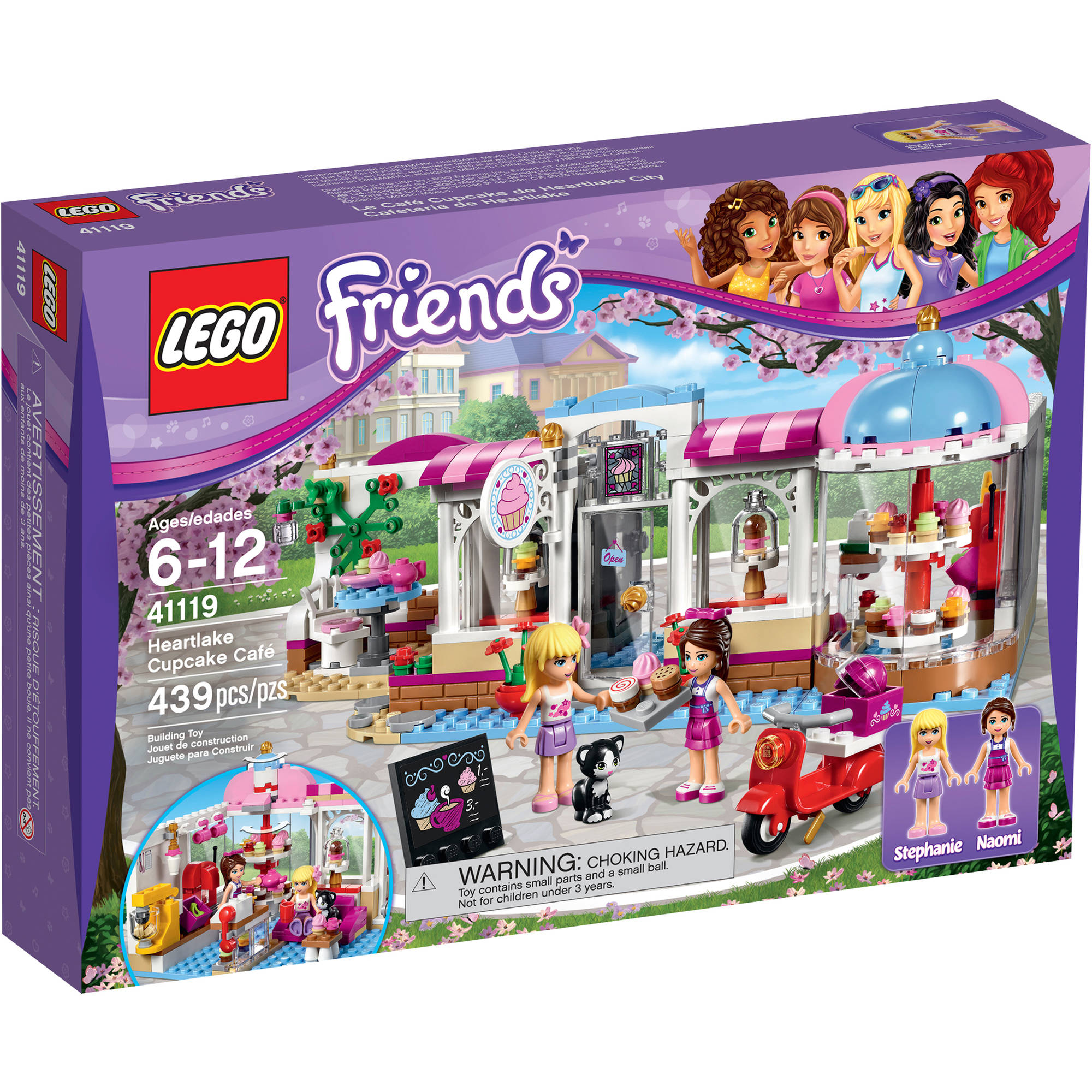 LEGO LEGO Friends Heartlake Cupcake Cafe, 41119