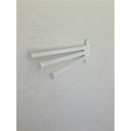 Outdoor LampWM6-WHT Wall Mount 6 Bar Towel Rack, (Horse Outdoor Mount)