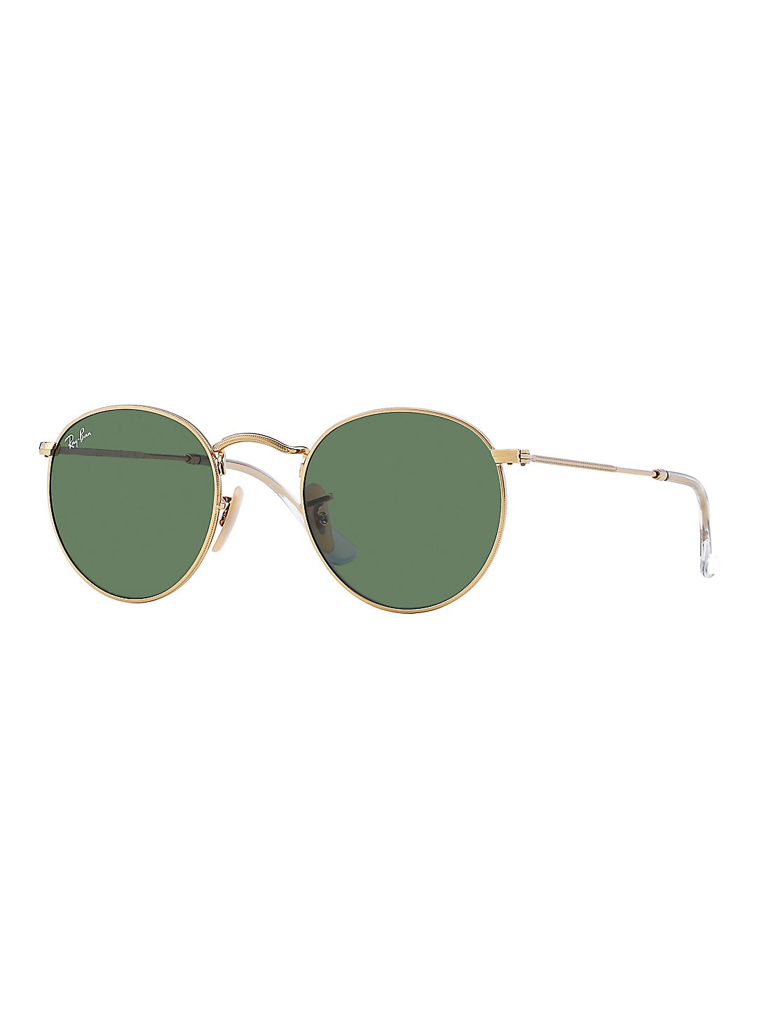 Ray-Ban Unisex RB3447 Round Metal Sunglasses, 50mm