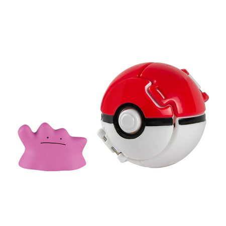 Tomy - Pokemon Throw'n'Pop Poke Ball, -