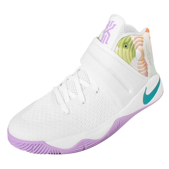 84dde2f1db34 Nike - Nike Boys Kyrie 2 GS Easter White Hyper Jade-Bright Mango Synthetic  - Walmart.com