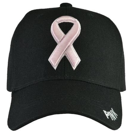 Breast Cancer Awareness - Black Baseball Hat Breast Cancer Baseball Caps