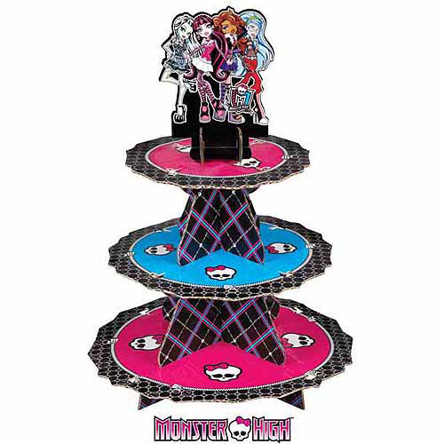 Wilton 3-Tier Treat Stand, Monster High 24 ct. 1512-6677