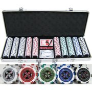 500 piece 13.5g Ultimate Poker Chip Set by