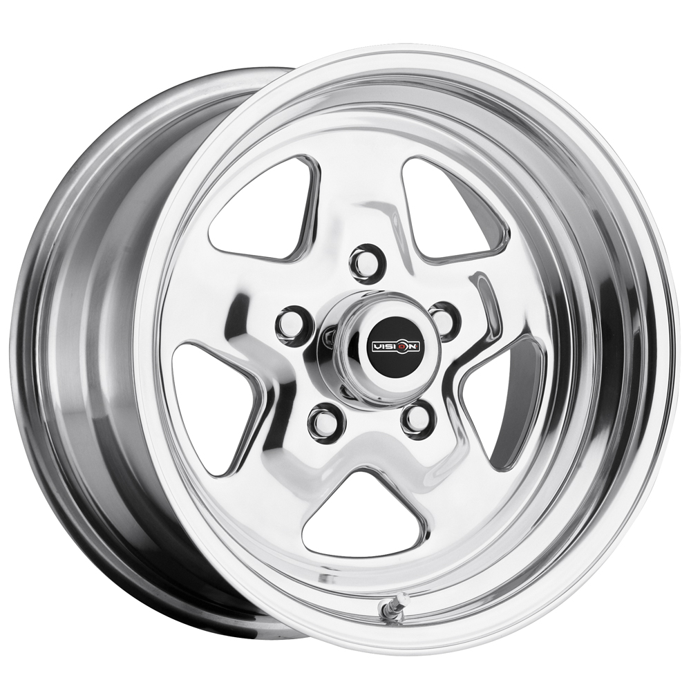 "15"" Inch Vision 521 Nitro 15x7 5x114.3 (5x4.5"") +0mm Polished Wheel Rim"