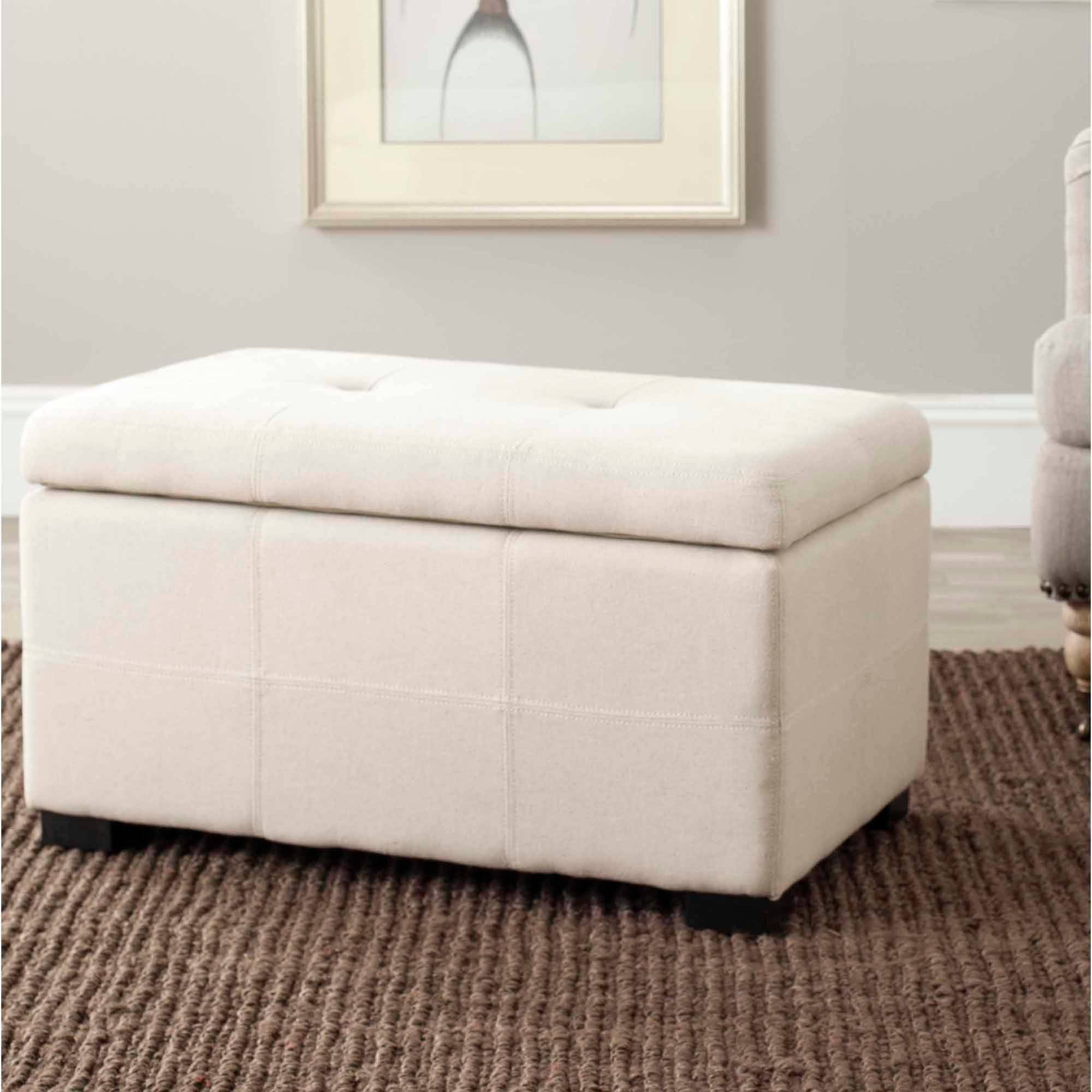 Safavieh Maiden Small Tufted Storage Bench, Multiple Colors