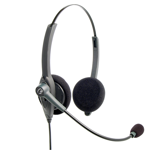 VXI 202777 Passport 21P Binaural Single-Wire Headset by VXI