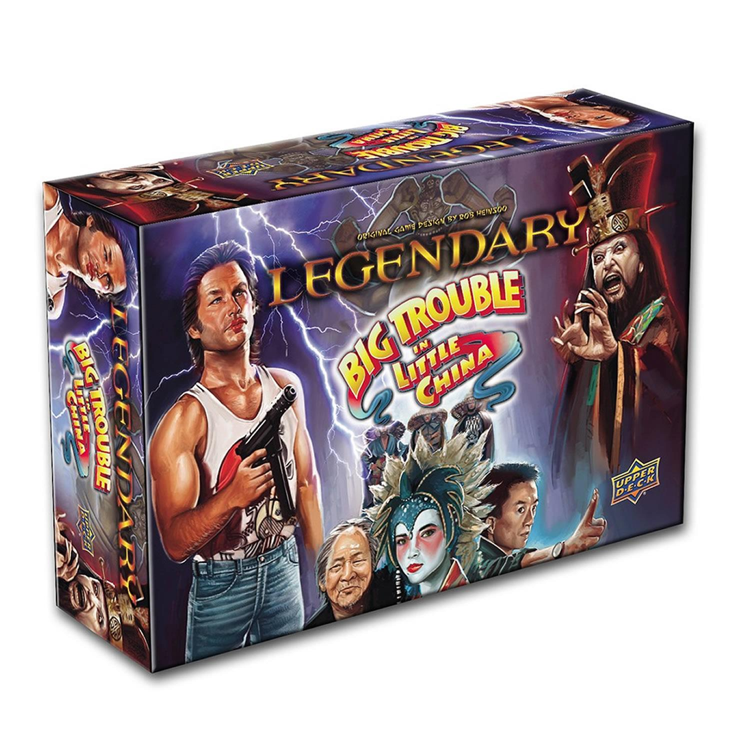Legendary: Big Trouble in Little China Legendary Board Game The Upper Deck Company UPR84774