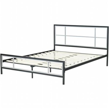 Image of Hanover Lincoln Square Full Metal Bed Frame