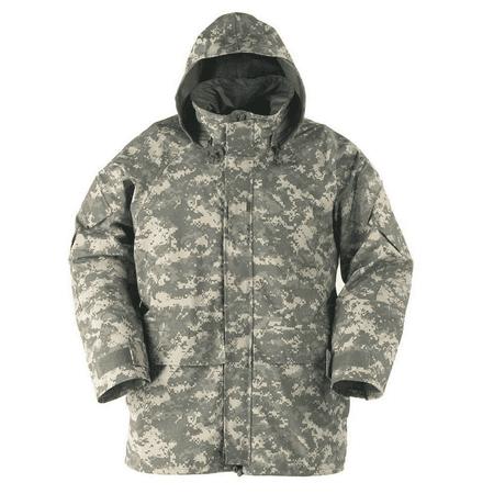 GI ACU Digital Universal Camo Gore tex Parka Jacket ECWCS Sizes Available - Gore Tex Helmet Cover