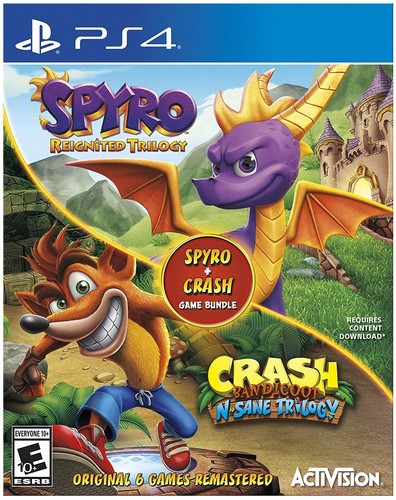 Spyro/Crash Bundle for PlayStation 4