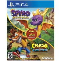Spyro Crash Remastered Bundle PlayStation 4