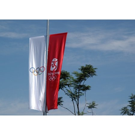 LAMINATED POSTER Games Olympics Beijing Banners Sign Sport China Poster Print 24 x 36