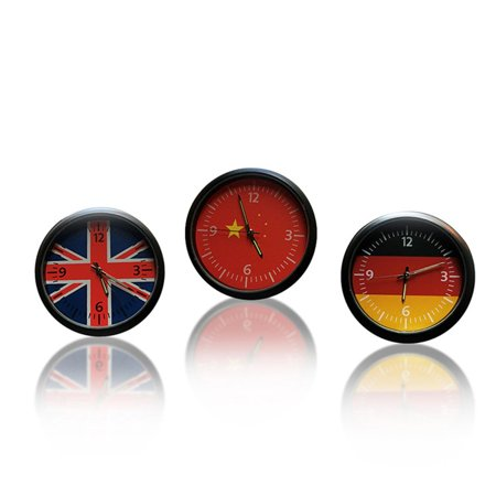 VENSE Car Cute Clock Watch Thermometer Air Outlet Vent Clip Perfume for All Vehicles - image 2 of 6