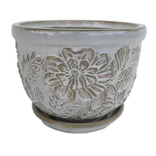 Better Homes&gardens Bhg 8in Vintage Flrl Cream