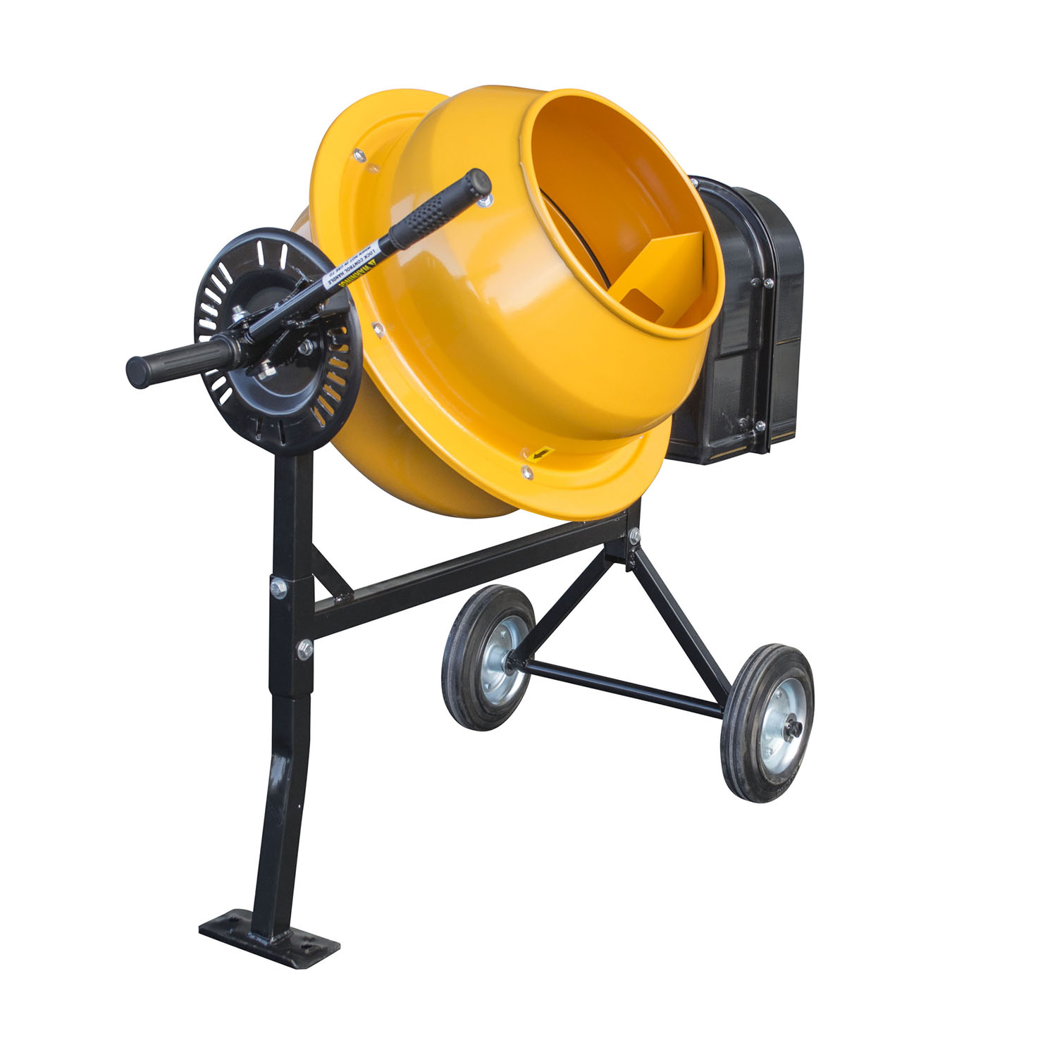 Offex 1.25 Cubic Foot Electric Cement Mixer by Offex