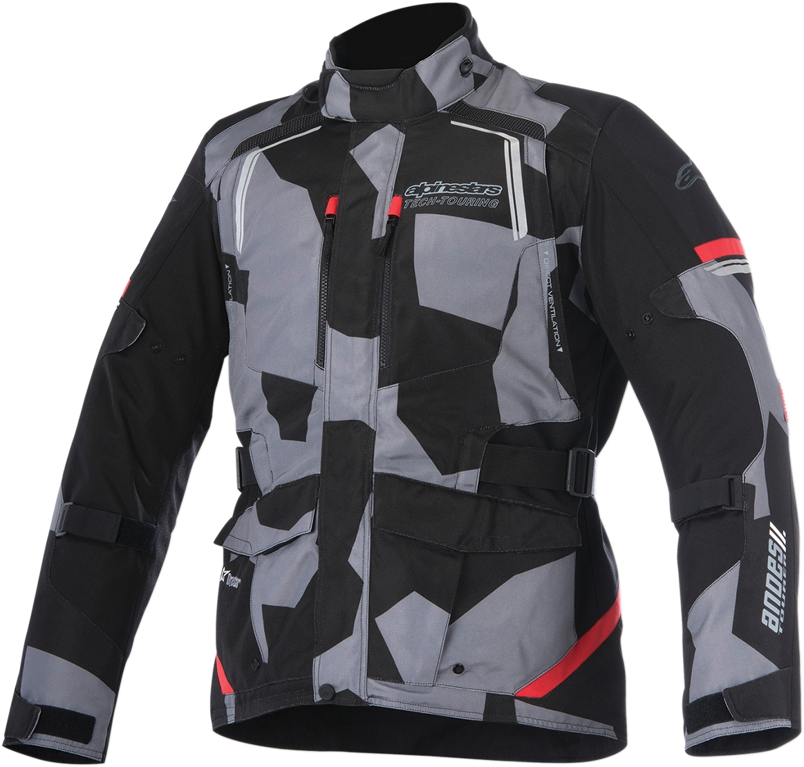 Gray//Yellow 2XL ALPINESTARS RUNNER AIR Textile Motorcycle Jacket 2X-Large