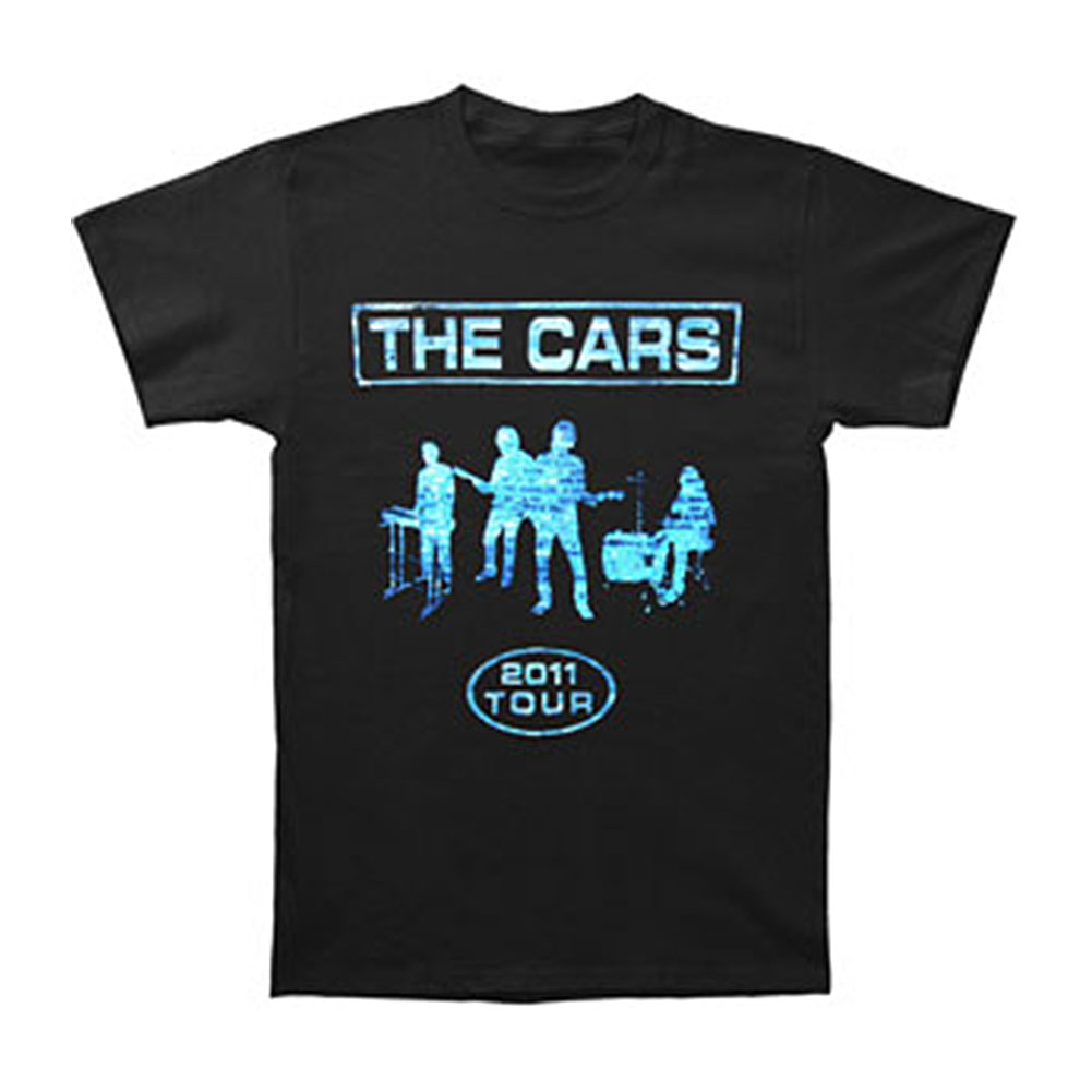 Cars Men's  Brick Silhouette Tour T-shirt Black