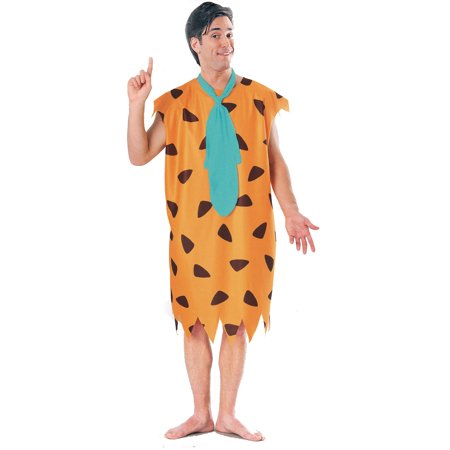 Fred Flintstone Mens Costume R15736 - Standard Large - Flinstone Costume