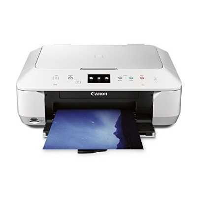 Refurbished CANON PIXMA MG6620 WIRELESS ALL-IN-ONE COLOR CLOUD Printer, Mobile Smart Phone, Tablet Printing, and AirPrint Compatible, White
