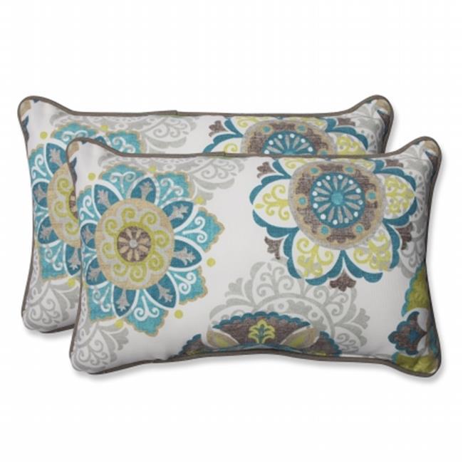 Pillow Perfect 564159 Allodala Oasis Rectangular Throw Pillow - Set of 2 - image 1 de 1